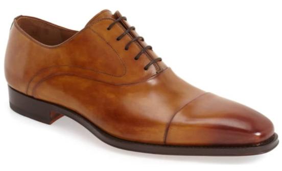 Magnanni shoes brown oxfords men