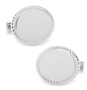 Engraveable cufflinks