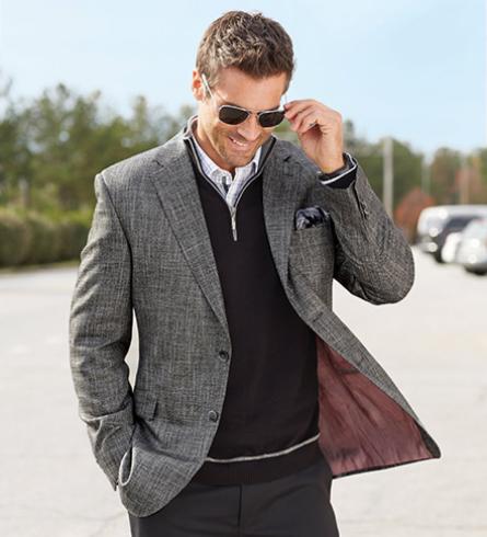 Patrick James mens blazers Reserve Tic Weave Bamboo Sport Coat designer