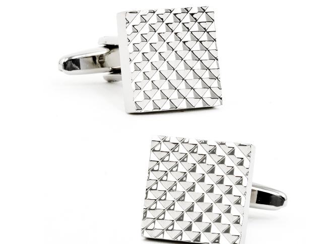square apex cufflinks for men style