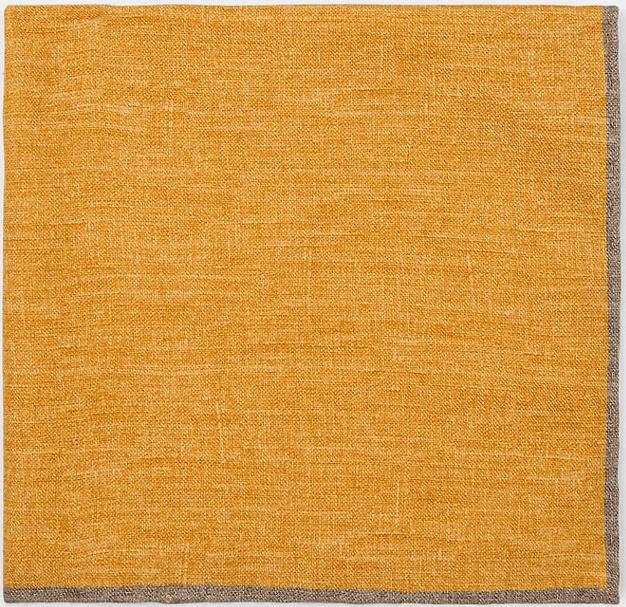 Eleventy Wool Cotton Pocket Square