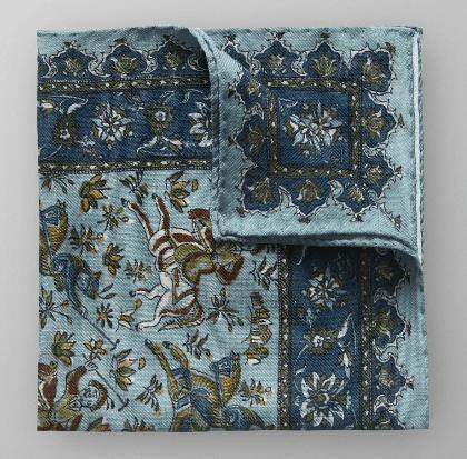 Eton persian pocket square