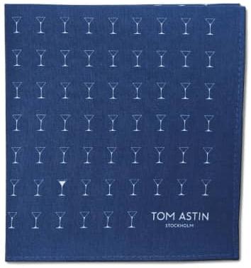 License to Chill Tom Astin Pocket Squares