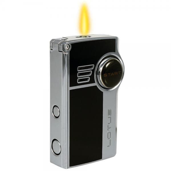 Lotus cigar lighter double torch with punch