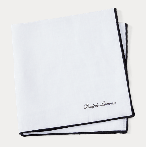 Tipped Linen Pocket Square1