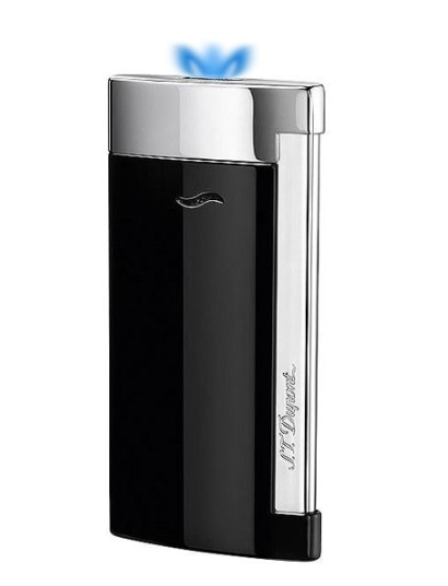St Dupont luxury cigar lighter black and silver