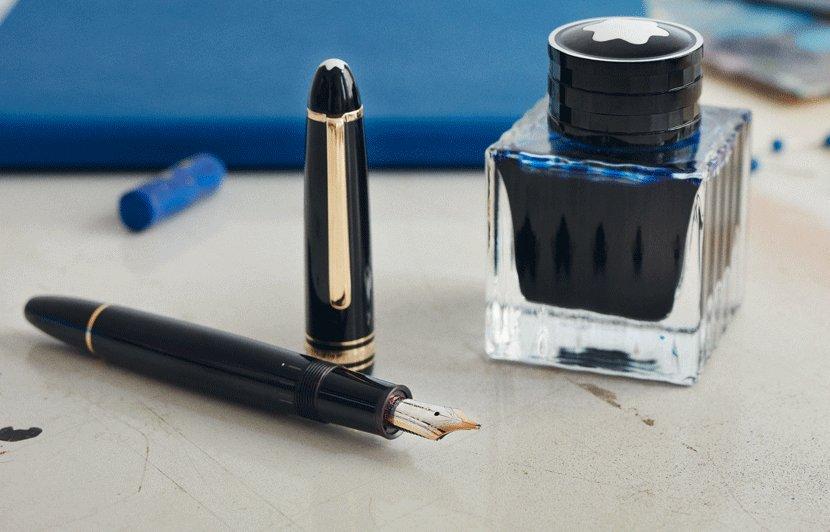 Montblanc pen Meisterstuck Le Petite Prince Solitaire LeGrand Fountain Pen