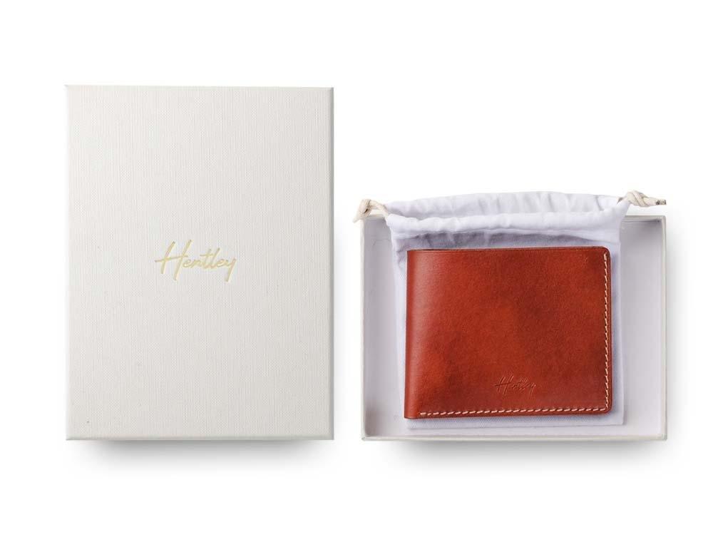 Hentley wallet gift box best designer mens wallet