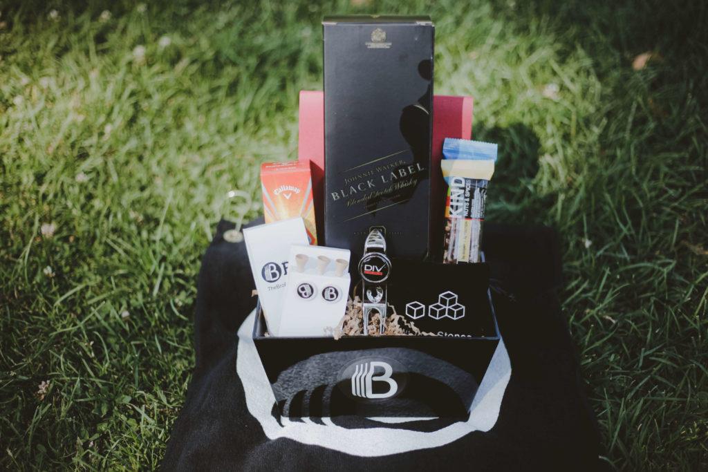 Mini Golf Gift Basket for Men scaled