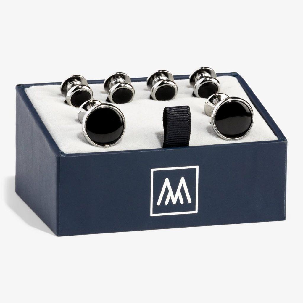 Mizzen and main cufflink set for men style