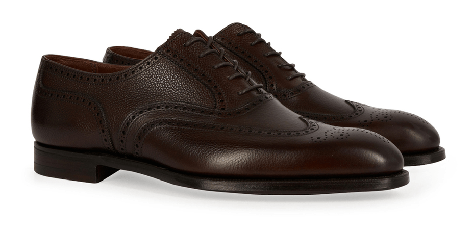 George Cleverely shoes men brown oxfords dress