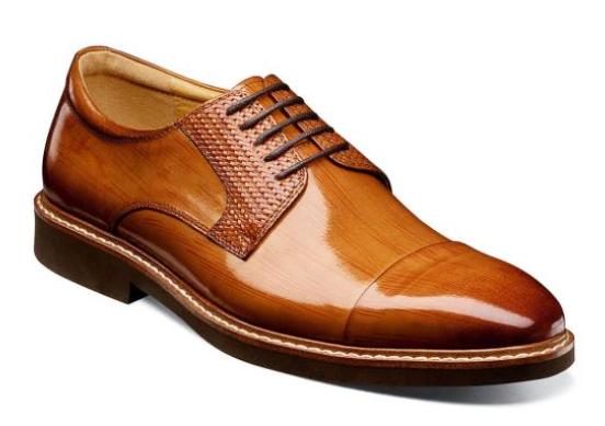 Stacy Adams mens brown oxfords designer dress shoes