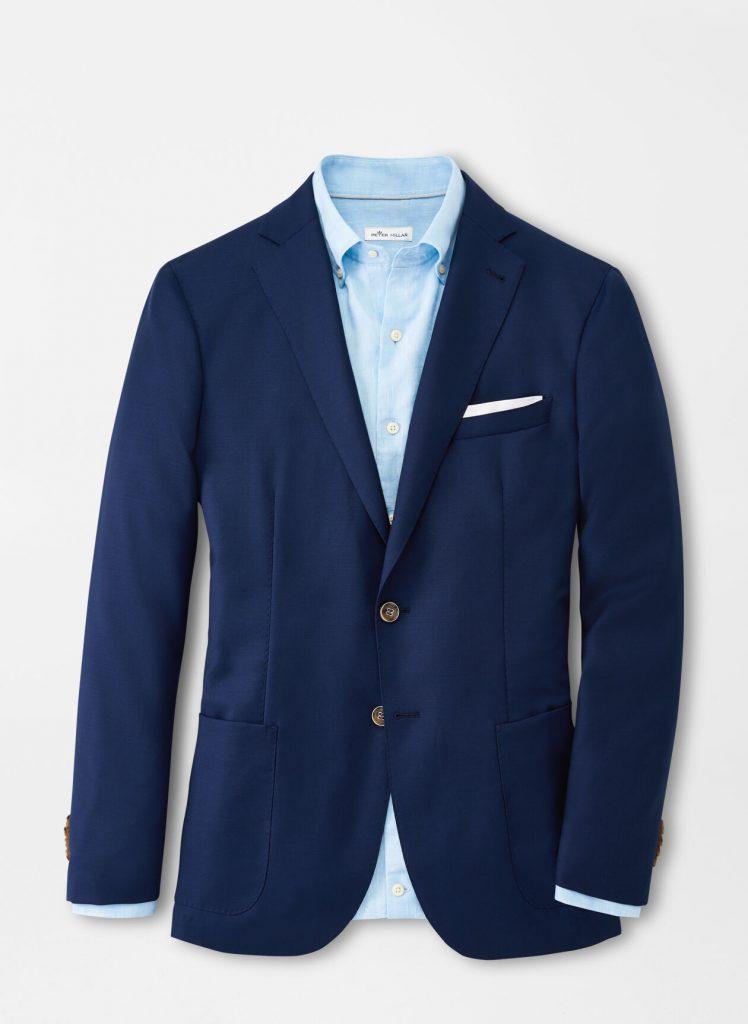 Peter Millar mens sport coats blue mens style