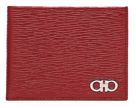 Red Salvatore Ferragamo wallet mens