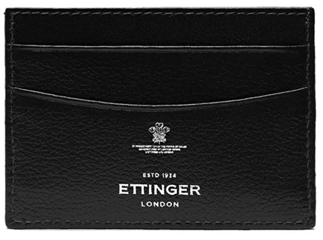 ettinger mens card holder black