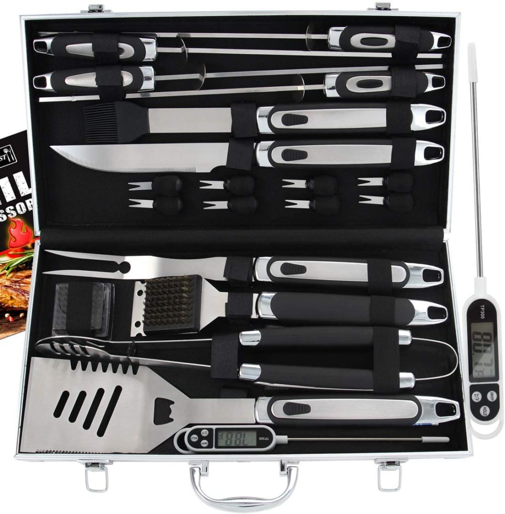 amazon father's day gifts grill set