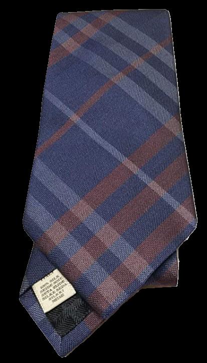 burberry tie blue mens