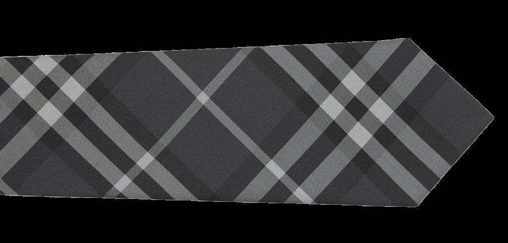 Burberry ties grey silk mens style