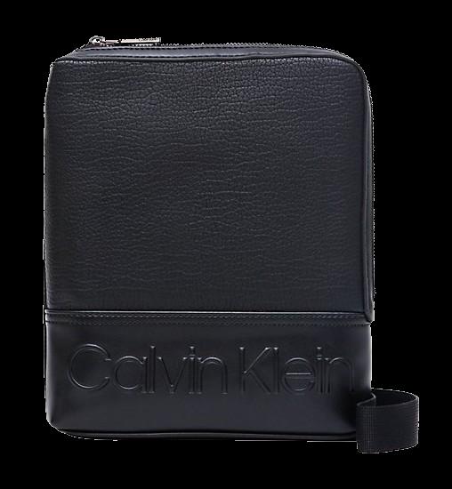Designer calvin klein mens crossbody bag black