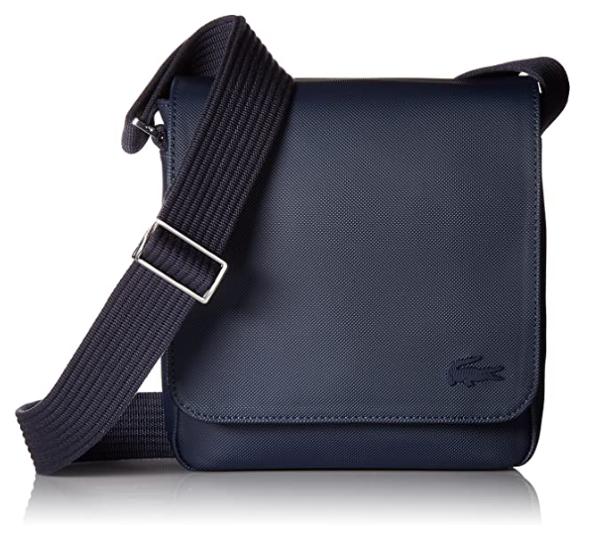Lacoste designer crossbody bags men
