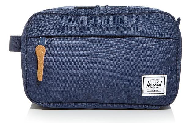 best dopp kit mens toiletry bag polyester navy blue