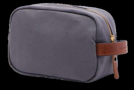 Peter Millar mens travel kit blue cotton