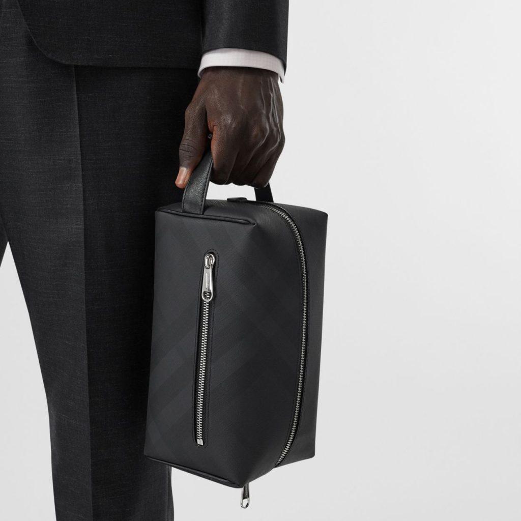 Burberry toiletry bag best mens dopp kits black leather