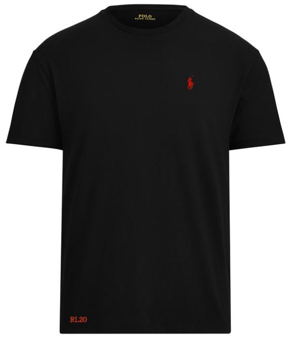 Ralph Lauren plain black t shirt men