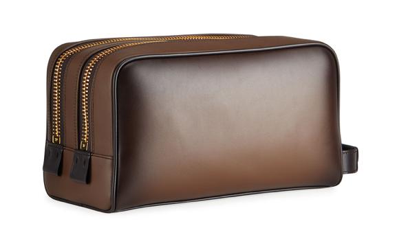 Tom Ford toiletry bag best mens dopp kit leather brown