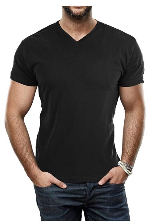 Xray plain black t shirts for men