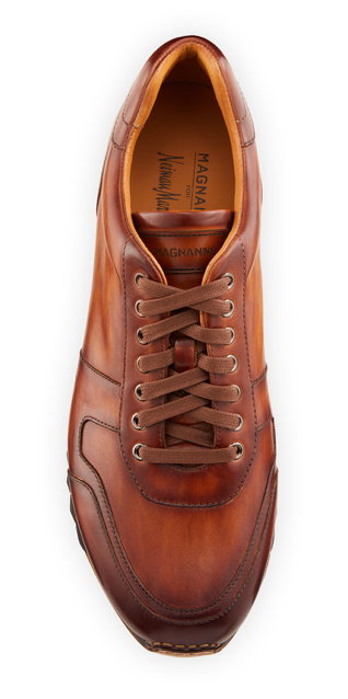 Magnanni sneakers leather mens style