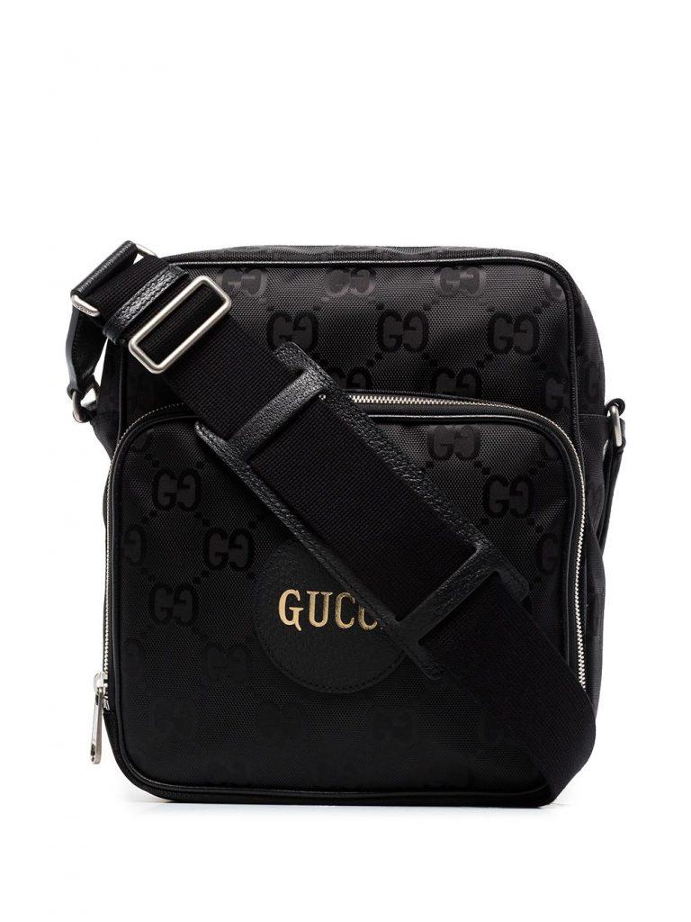 Black Gucci crossbody bag mens