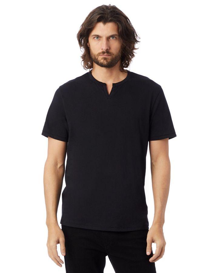 Urban Outfitters plain black t shirt men